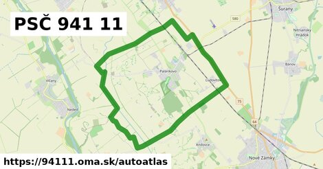 ikona Mapa autoatlas  94111