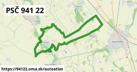 ikona Mapa autoatlas  94122