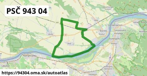 ikona Mapa autoatlas  94304