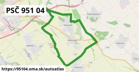 ikona Mapa autoatlas  95104
