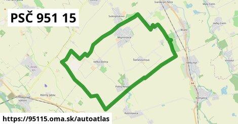 ikona Mapa autoatlas  95115