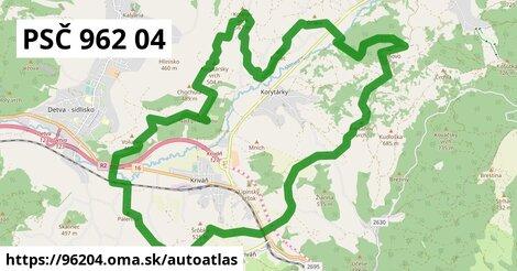 ikona Mapa autoatlas  96204