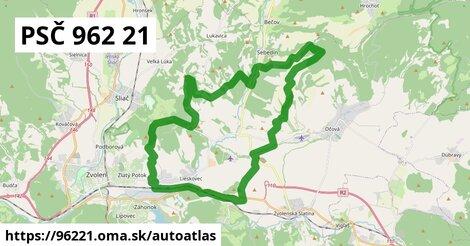 ikona Mapa autoatlas  96221