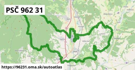 ikona Mapa autoatlas  96231