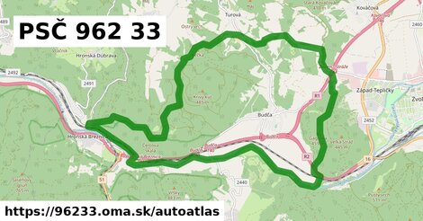 ikona Mapa autoatlas  96233