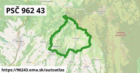 ikona Mapa autoatlas  96243