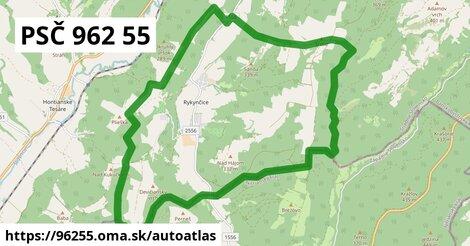 ikona Mapa autoatlas  96255