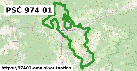 ikona Mapa autoatlas  97401