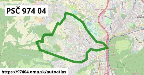 ikona Mapa autoatlas  97404