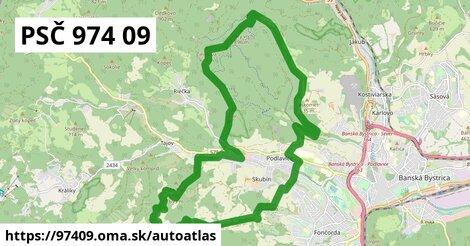 ikona Mapa autoatlas  97409