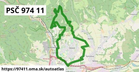 ikona Mapa autoatlas  97411