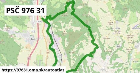 ikona Mapa autoatlas  97631