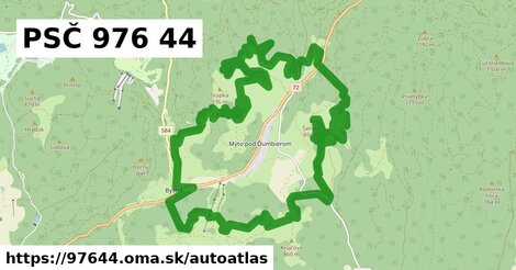 ikona Mapa autoatlas  97644