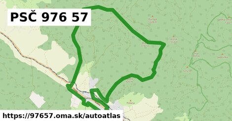 ikona Mapa autoatlas  97657