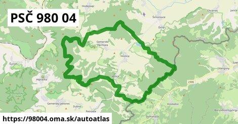 ikona Mapa autoatlas  98004