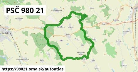 ikona Mapa autoatlas  98021