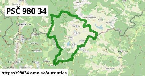 ikona Mapa autoatlas  98034