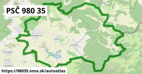ikona Mapa autoatlas  98035