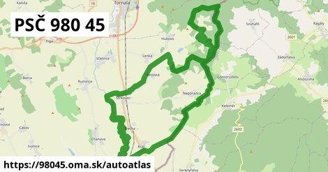 ikona Mapa autoatlas  98045