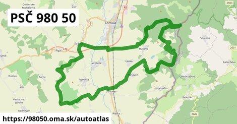 ikona Mapa autoatlas  98050