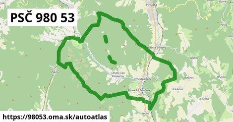 ikona Mapa autoatlas  98053