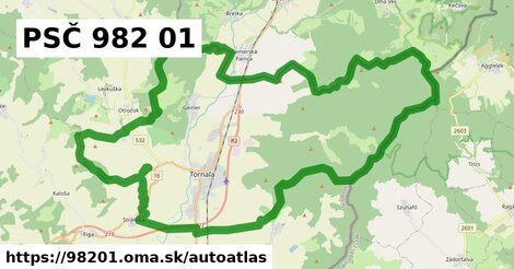 ikona Mapa autoatlas  98201
