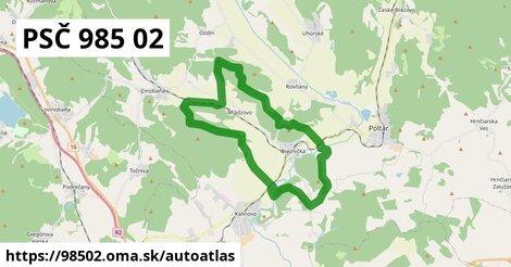 ikona Mapa autoatlas  98502
