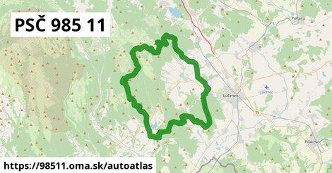 ikona Mapa autoatlas  98511
