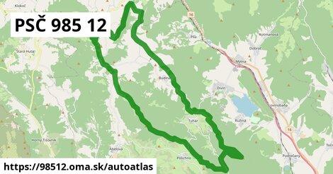 ikona Mapa autoatlas  98512