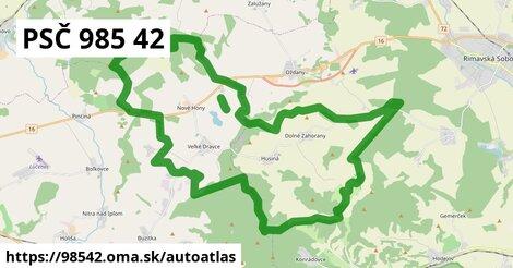 ikona Mapa autoatlas  98542