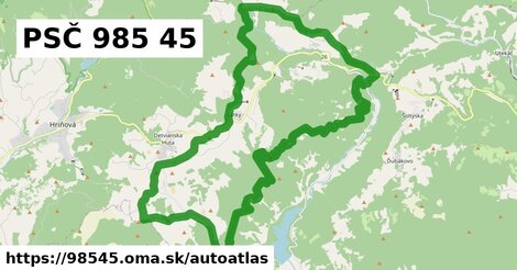 ikona Mapa autoatlas  98545