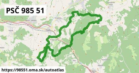 ikona Mapa autoatlas  98551