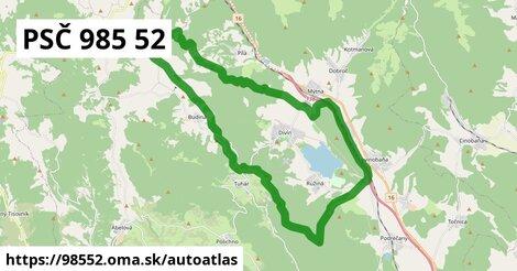 ikona Mapa autoatlas  98552