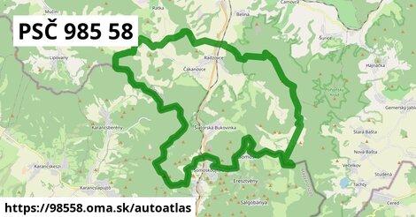 ikona Mapa autoatlas  98558