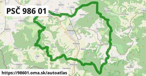 ikona Mapa autoatlas  98601