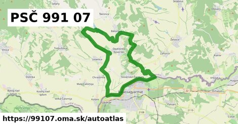 ikona Mapa autoatlas  99107