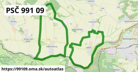 ikona Mapa autoatlas  99109