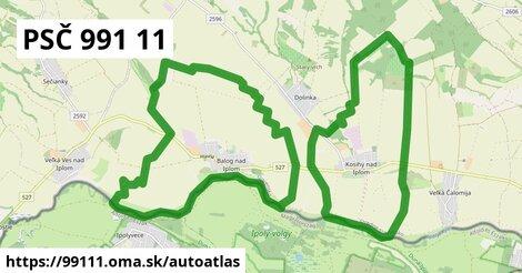 ikona Mapa autoatlas  99111