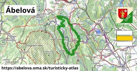 ikona Turistická mapa turisticky-atlas  abelova