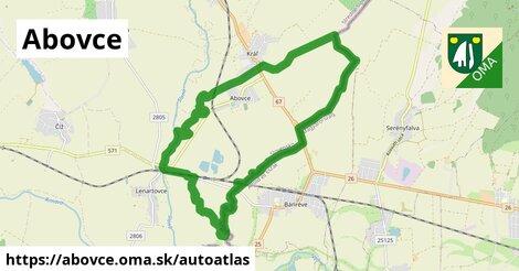 ikona Mapa autoatlas  abovce