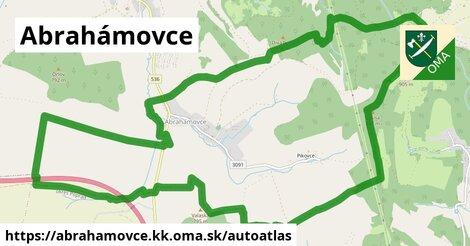 ikona Mapa autoatlas  abrahamovce.kk