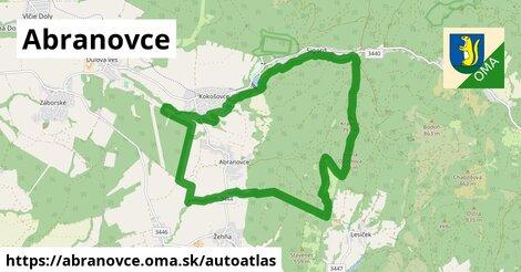 ikona Mapa autoatlas  abranovce