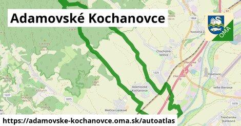 ikona Mapa autoatlas  adamovske-kochanovce