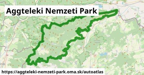 ikona Mapa autoatlas  aggteleki-nemzeti-park