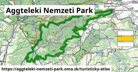 ikona Turistická mapa turisticky-atlas  aggteleki-nemzeti-park