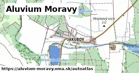 ikona Mapa autoatlas  aluvium-moravy