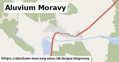 ikona Mapa dopravy mapa-dopravy  aluvium-moravy