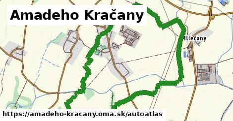 ikona Mapa autoatlas  amadeho-kracany