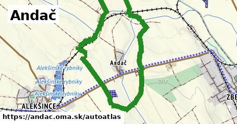 ikona Mapa autoatlas  andac