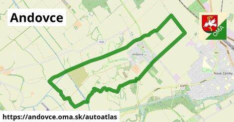 ikona Mapa autoatlas  andovce